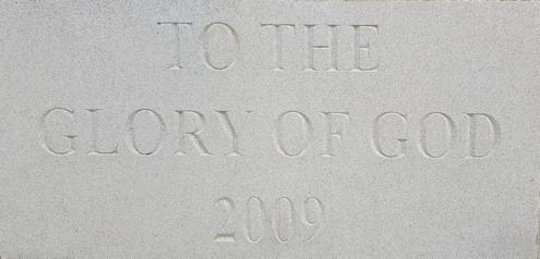 2009 Foundation Stone