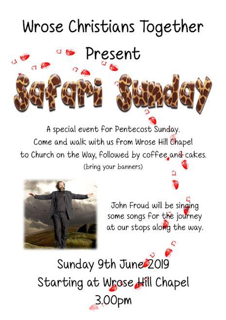 Safari Sunday flyer
