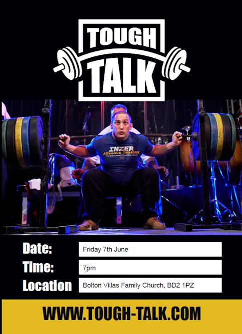 Tough Talk flyer