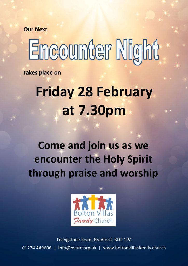 Encounter Night Poster (28-02-2020)